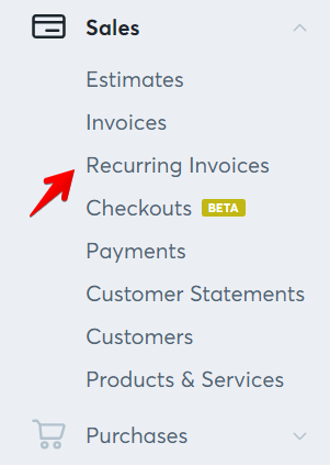 Guide To Recurring Invoices Help Center - What is recurring invoice for service business