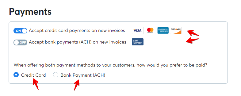 How do I turn off bank payments? - Help Center