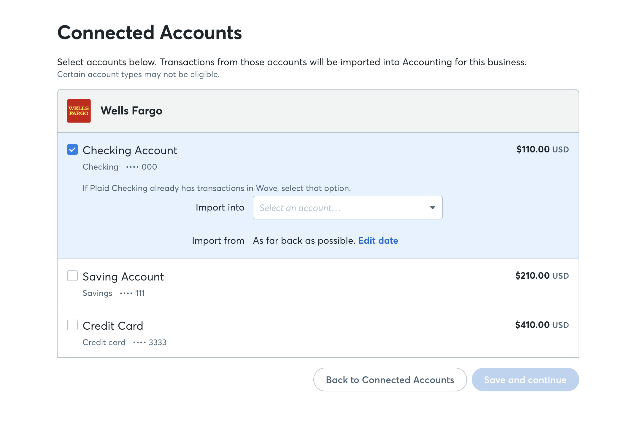 Connect Your Bank Account To Wave Help Center