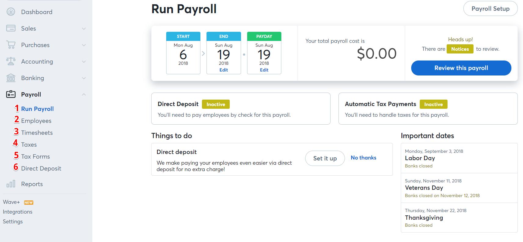 Payroll – Help Center