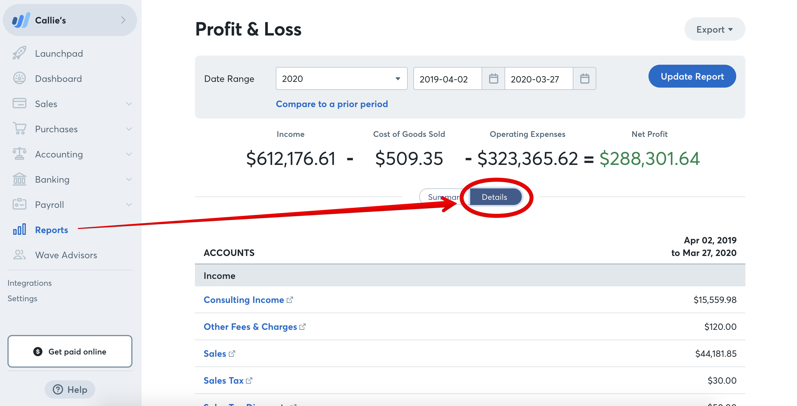 How To Read A Profit Loss Statement Help Center