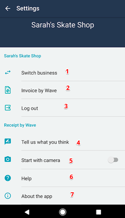 Valid Vat Invoice Pdf Guide To Receipts By Wave Iosandroid  Help Center Walmart Tv Return Policy With Receipt Pdf with Target Return Policy Without A Receipt Word  About The App  Bring Up Waves Policy Information And App Build  Information What Are Depository Receipts