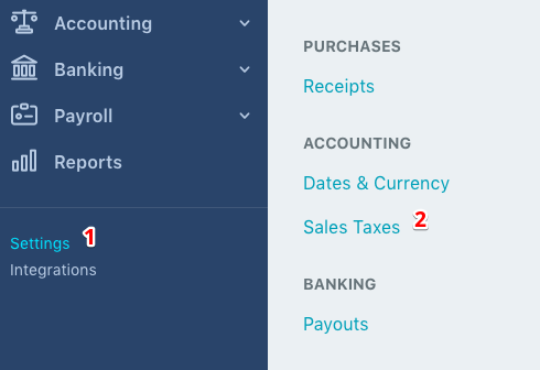 Sales Tax Reporting Changes Help Center - Waveapps invoice