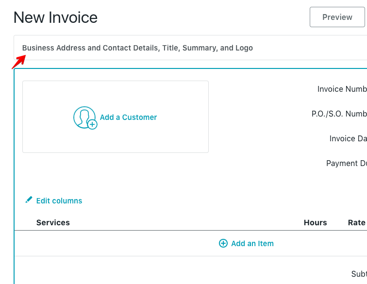 Click Save To Convert Invoice To A Draft, Or Click Preview To View Invoice  Before Saving. Clicking Save Will Save The Invoice But Not Make Any Changes  To ...  Making Invoices