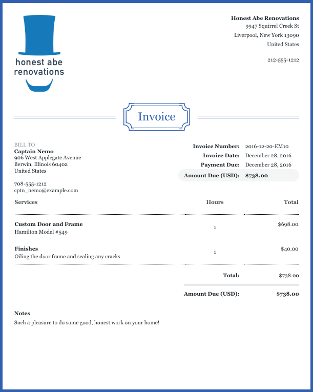 Help Center  Invoices