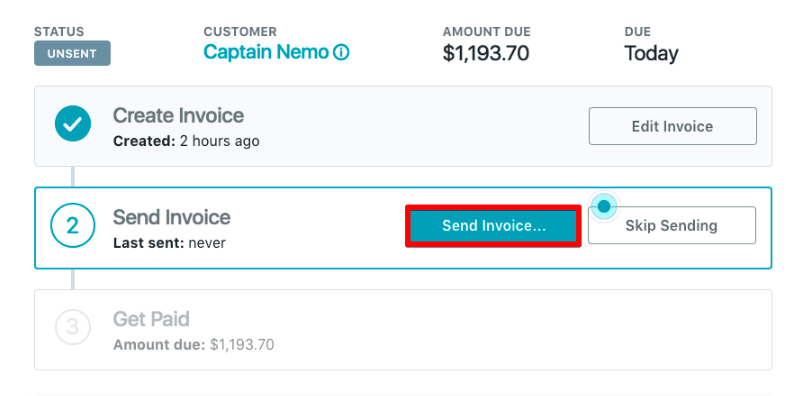 From The Invoices Page In Your Wave Account, Click On The Invoice From The  List View To Open It: ...  How To Send Invoices