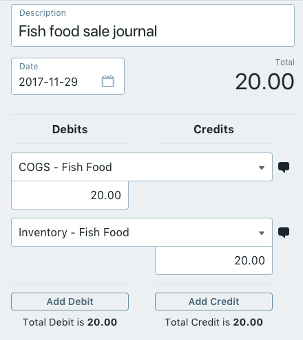 Simple Inventory Entry Tracking In Wave Help Center - Create invoice in quickbooks online thrift store