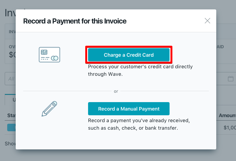 receiving your first payment help center